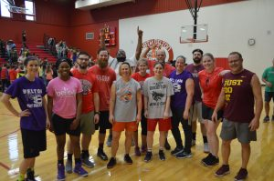 Staff Dominates Students in 54-13 Win!
