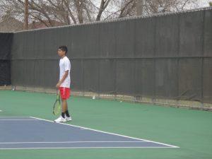 Tiger Tennis at Copperas Cove