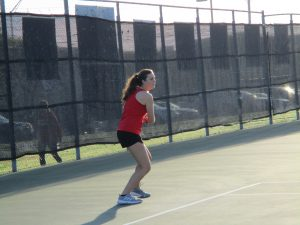 Tiger Tennis at A&M Consolidated Tournament