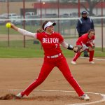 Cotton tosses two-hitter, Belton chips away in middle innings in 7-0 win over Shoemaker