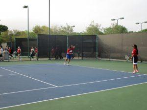Freshman/JV Tennis at District Tournament