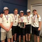 Belton Boys and Girls Middle School Golf Bring Home District Titles