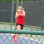 Tiger Tennis at Regional Tournament