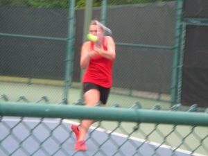 Tiger Tennis at Regional Tournament