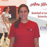 Abby Harrison signs with Concordia
