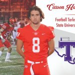 Carson Harris to continue his career at Tarleton State