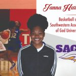 Janna Harvey signs with Southwestern Assemblies of God