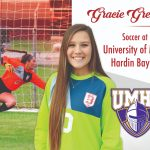 Gracie Green signs with UMHB