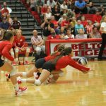 Belton treats home fans to sweep of Hutto at Tiger Gym on Tuesday