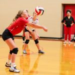 LBMS Girls Volleyball Kicks Off the Season with Cross Town Rivalry
