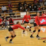 JV, Freshman Red volleyballers sweep Waco to open district play