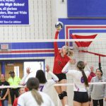 JV, Freshman Red pull off straight-set wins over Temple