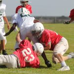 Two fourth-quarter scores lift Travis 7B over NBMS 7B, 25-13
