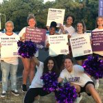 Girls Basketball Volunteers at Bell County's Walk to End Alzheimer