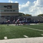 SBMS: Football 8th-Grade A-Team Lose in a Game Cut Short by Storms