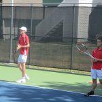 JV Tennis at Westwood
