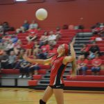 North Belton Volleyball takes on Midway