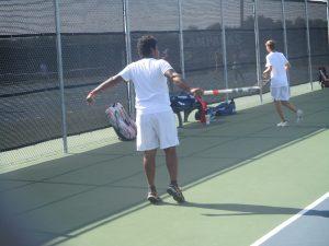 Tiger Tennis at Lampasas