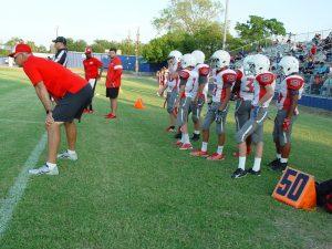 SBMS: 7th-Grade Football Splits with Lamar