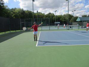 JV Tennis at Waco