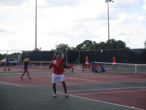 Tiger Tennis VS Georgetown