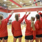 North Belton Volleyball Success at Home