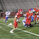 Freshmen Red have all the right answers in 55-6 win over Temple