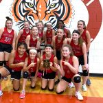 NBMS Belton Volleyball Tournament 7th Grade Results