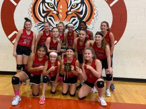 NBMS 7th grade Volleyball- Belton Tournament