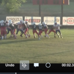 NBMS 8th Football Wins Two against Midway Red