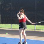 JV Tennis at Temple