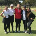Girls Varsity Golf finishes 4th place at Badger Invitational
