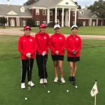 Lady Tiger  3 Golf Team Competes in the Bears Two Player Scramble