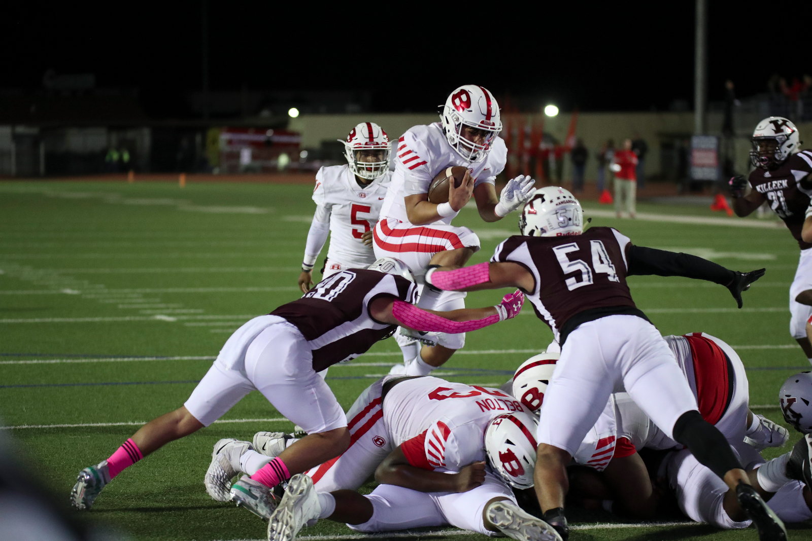 Tigers unable to catch up after fast Killeen start, fall 44-17