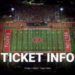 Belton vs Ellison Ticket Sales Information – Think Pink Go Red
