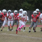 Big pass play late in third quarter the difference in LBMS 7B's 12-6 win over SBMS 7B