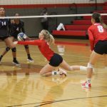 Lady Tigers lock up third place in District 12-6A with sweep of Shoemaker