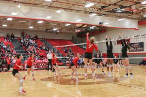 Belton Volleyball vs Midway Photos