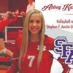 Abbey Karcher signs with Stephen F. Austin