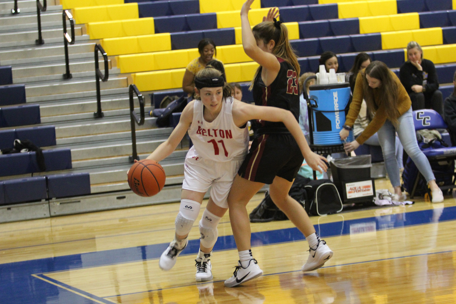 Lady Tigers down Brenham, fall to Rouse on second day of Copperas Cove's Bush's Chicken Classic