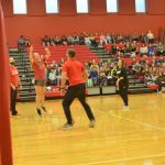 NBMS Student vs Staff Volleyball Game