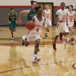 Freshman Tigers jump out to early lead, defeats Burnet, 62-24