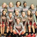 NBMS Girls' Champions at Belton Basketball Tournament