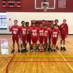 Lake Belton Sweeps in the SBMS B-Team Tournament
