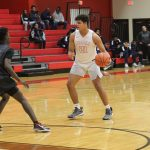 JV Tigers stay close with Shoemaker, Grey Wolves pull away late, 70-42
