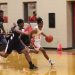 Even quarters yield 22 points each for University Freshman, down Tigers Freshman Red 61-51