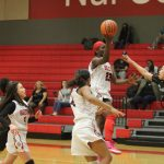Adams sinks runner at the buzzer as Lady Tigers JV upends Ellison, 39-38