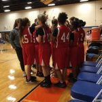 Lake Belton Girls Basketball comes home 1-3 from Bonham last night
