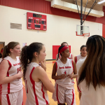 NBMS Girls' Basketball sweeps Bonham