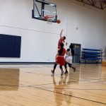 Freshmen Red Shock Temple; Win 43-34